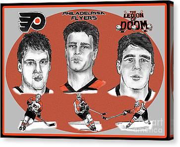 Philadelphia Flyers Legion Of Doom Canvas Print