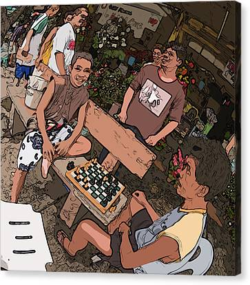 Philippines 4293 Checkers Canvas Print by Rolf Bertram