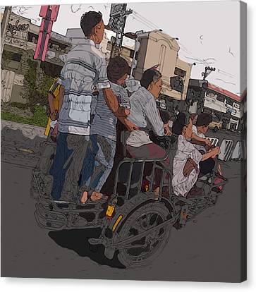 Philippines 5534 Pamilya Canvas Print by Rolf Bertram
