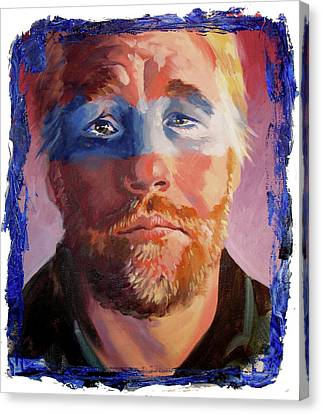 Phillip Seymour Hoffman Canvas Print by Ken Meyer jr