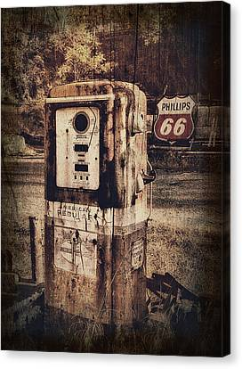 Phillips 66 Canvas Print by Kathy Jennings