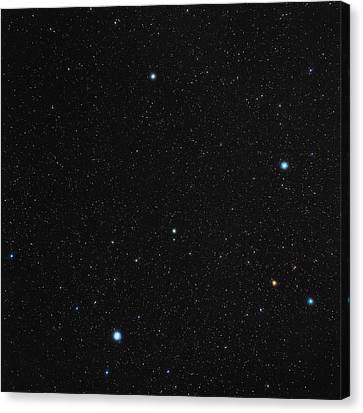 Phoenix Constellation Canvas Print by Eckhard Slawik