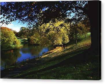 Phoenix Park, Dublin, Co Dublin, Ireland Canvas Print by The Irish Image Collection