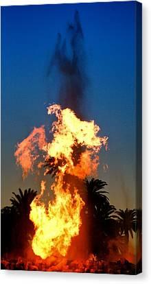 Canvas Print featuring the photograph Phoenix Rising by Joe Urbz