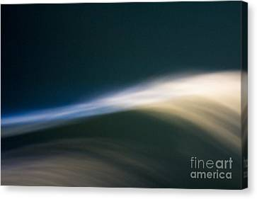 Phosphorescence Wave Canvas Print by Clare Bambers