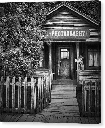 Photo Shop  Canvas Print by Jerry Cordeiro