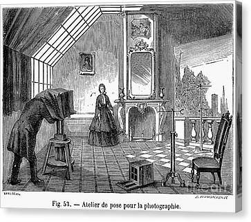 Photography, 1876 Canvas Print by Granger