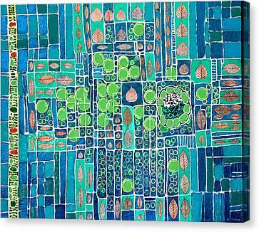 Photosynthesis Canvas Print by Ethel Vrana