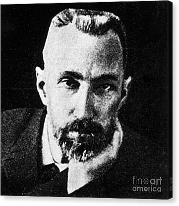 Pierre Curie, French Physicist Canvas Print