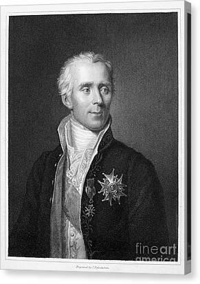 Pierre Laplace (1749-1827) Canvas Print by Granger