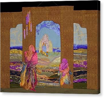 Pilgrimage Canvas Print by Roberta Baker