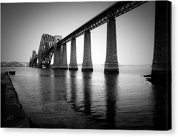 Pillars Of The Firth Canvas Print