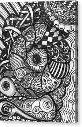 Pillows Canvas Print by Paula Greenlee