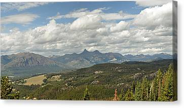 Pilot Peak Panorama Canvas Print