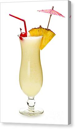 Pina Colada Cocktail Canvas Print by Elena Elisseeva