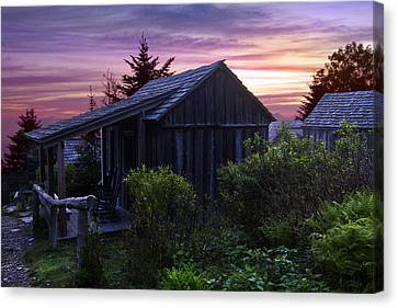 Pink Dawn Canvas Print by Debra and Dave Vanderlaan