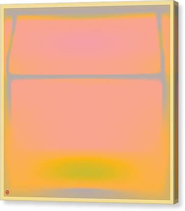 rothko canvas print pink yellow and grey by gary grayson