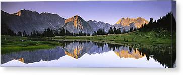 Pioneer Basin Morning Panorama Canvas Print by Buck Forester