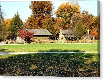 Pioneer Village 1 Canvas Print by Franklin Conour