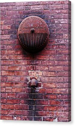 Pipe And Alarm Canvas Print