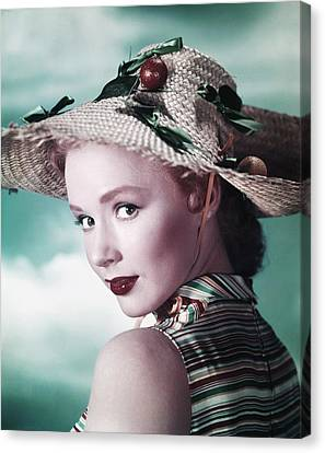 Piper Laurie, Ca. Early 1950s Canvas Print by Everett