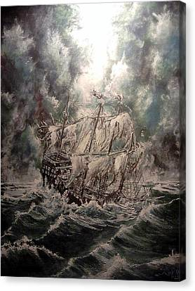 Pirate Islands 2 Canvas Print by Robert Tarrant