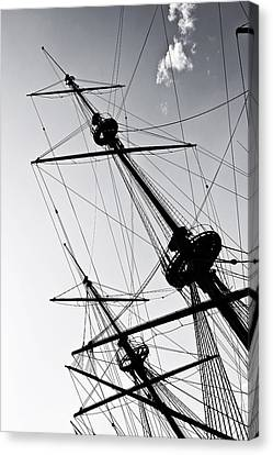 Pirate Ship Canvas Print by Joana Kruse