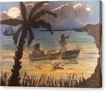 Pirates Trust Canvas Print by Richard  Hubal
