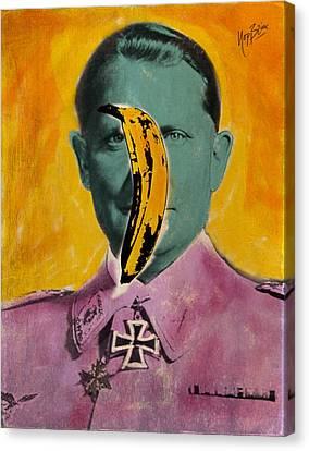 Pisang Goering Canvas Print by Nop Briex
