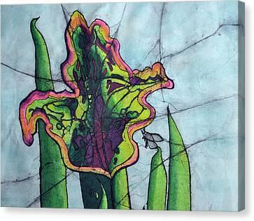 Pitcher Plant Canvas Print by Shari Carlson