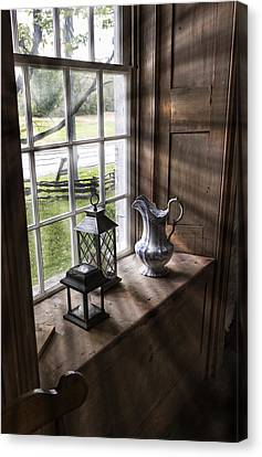 Pitcher Window Canvas Print by Peter Chilelli
