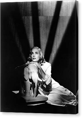Pitfall, Lizabeth Scott, 1948 Canvas Print by Everett