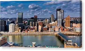 Pittsburgh Canvas Print by David Hahn