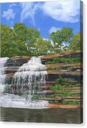 Pixley Falls Canvas Print by Lynne Reichhart