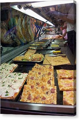 Pizza Pizza Canvas Print