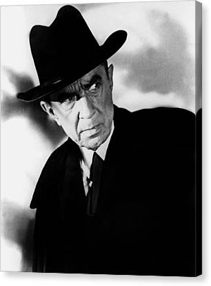 Plan 9 From Outer Space, Bela Lugosi Canvas Print by Everett
