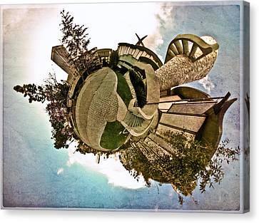 Planet Lacma Canvas Print by Natasha Bishop