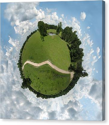 Planet Wee Path Canvas Print by Nikki Marie Smith