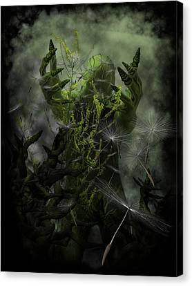 Plant Man Cometh Canvas Print by Michael Knight