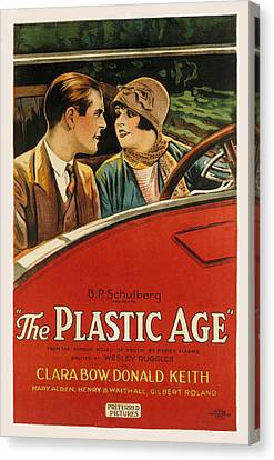 Plastic Age, The, Donald Keith, Clara Canvas Print by Everett