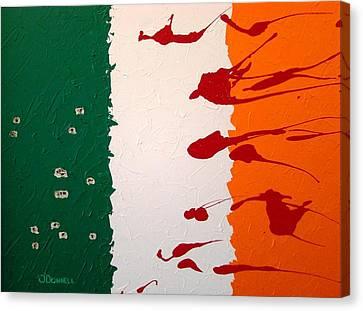Plastic Bullets Canvas Print by Stephen P ODonnell Sr