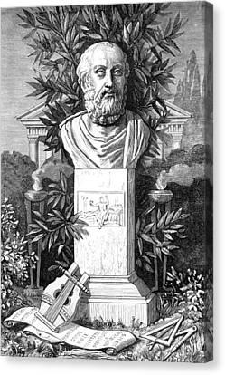 Plato, Ancient Greek Philosopher Canvas Print by