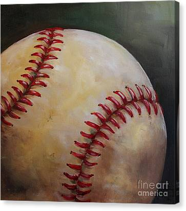 Diamondbacks Canvas Print - Play Ball No. 2 by Kristine Kainer