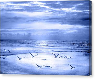 Canvas Print featuring the photograph Playa De Traba by Alfonso Garcia