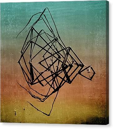 Playback Canvas Print by Bonnie Bruno