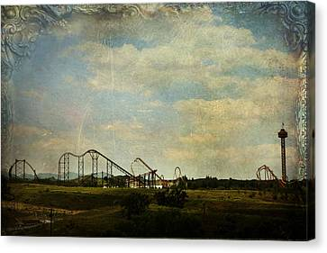 Playgrounds Of Old Canvas Print by Laurie Search