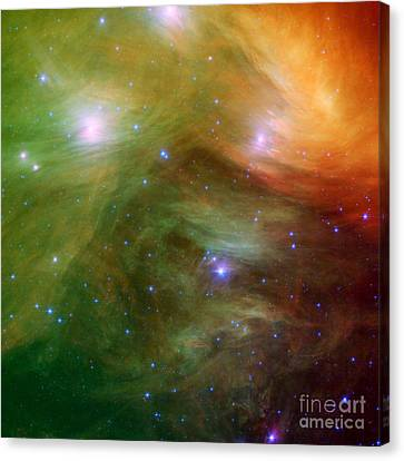Pleiades Canvas Print by Photo Researchers