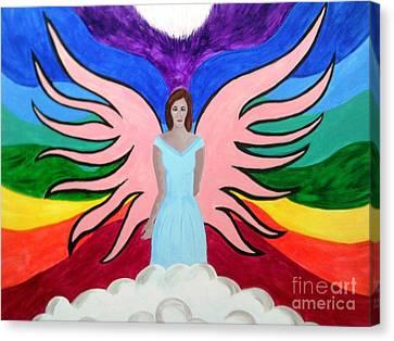 Pleiadian Goddess Canvas Print