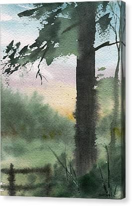 Plein Air 10 Canvas Print by Sean Seal