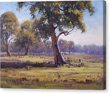 Plein Air Painting Canvas Print by Graham Gercken